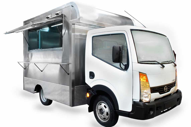 Foodtruck fabricado en camión Nissan Cabstar