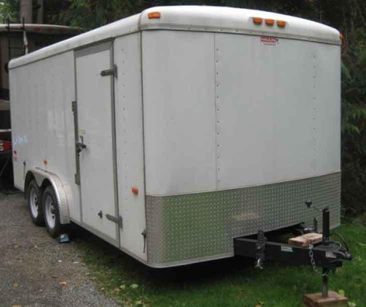 ¿Se puede convertir un remolque de carga en un Food Truck