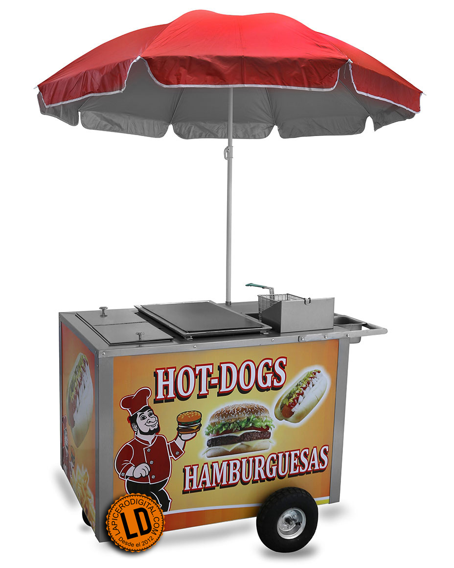 Venta De Carritos Para Hot Dog Usados