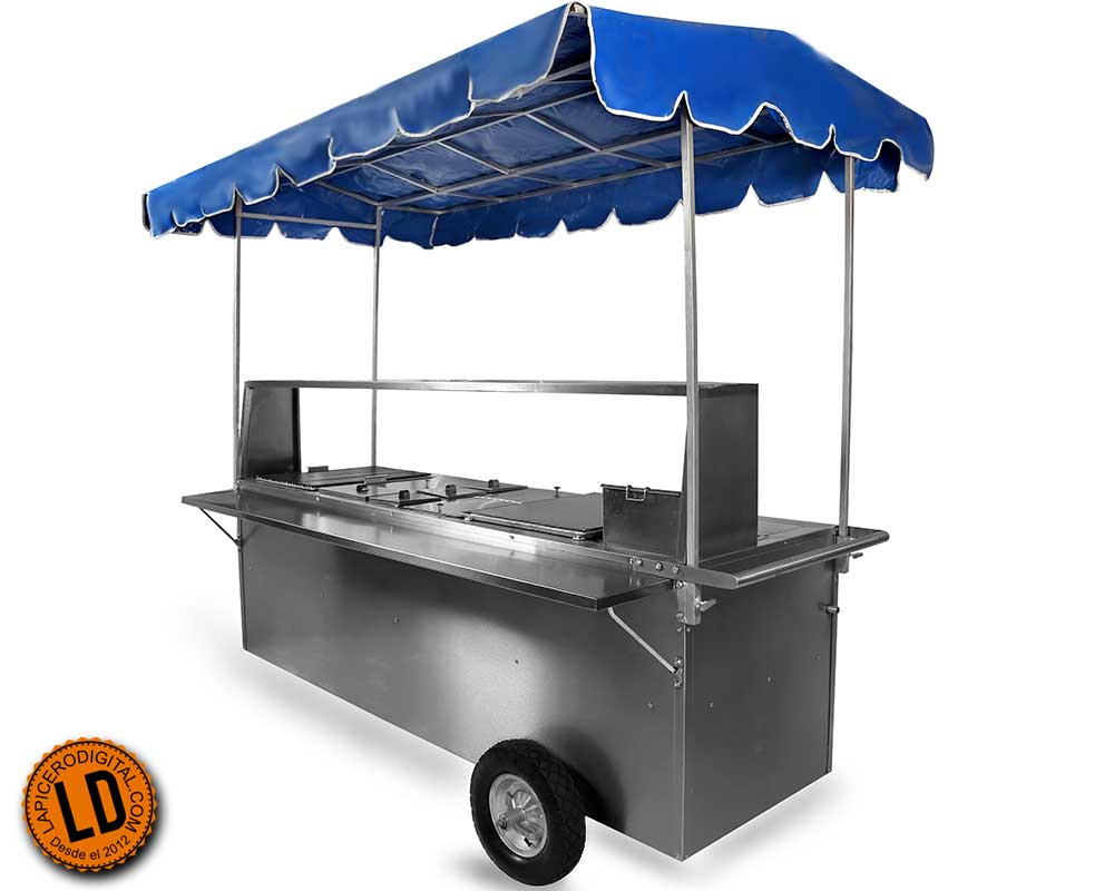 Carro de hot dog Industrial modelo HE