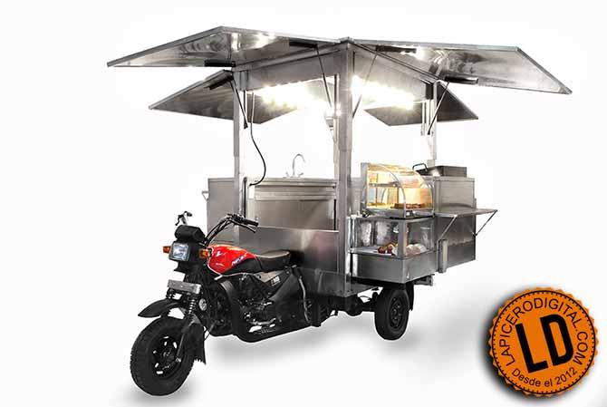 Moto para vender comida