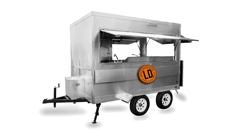 Remolques para comida para preparar y vender alimentos|Lapicero Digital