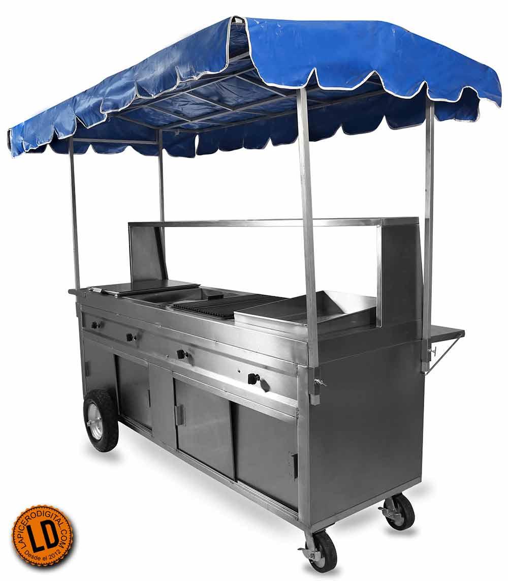 Puestos de tacos y carritos para tacos muy atractivos for Carritos y camareras de cocina