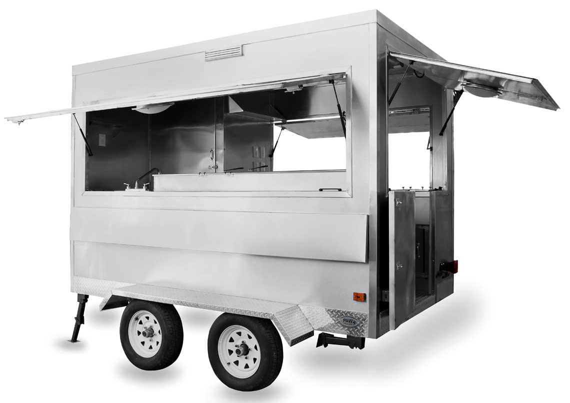 Remolques de comida tipo trailer fabricados en colombia for Carritos con ruedas para cocina